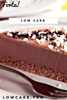 Tortas Low Carb, Bolos Low Carb, Dessert Recipes, Desserts, Lchf, Paleo, Health Fitness, Food, Desert Recipes