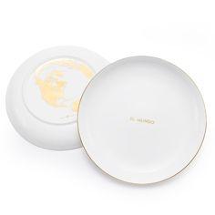 El Mundo Plate #homedecor #dinnerware #laloteria