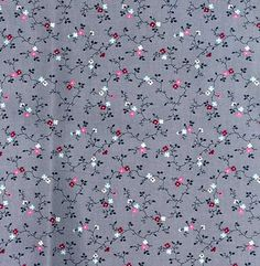 1 Yard Cotton Quilting Fabric, Victorian Design w Cranberry Sprig Flowers on Medium Gray. $6.25, via Etsy. Victorian Fabric, Victorian Design, Cotton Quilting Fabric, Long Tops, Flower Prints, Photoshop, Quilts, Iphone, Trending Outfits