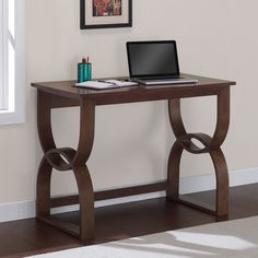 Bentwood Medium Walnut Writing Desk - 16128052 - Overstock.com Shopping - Great Deals on I Love Living Desks