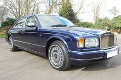 1998 R Rolls Royce Seraph. Finished in Peacock Blue with Cotswold Ruched leather interior piped in French Navy Carpets with Cotswold piping. Electric sun roof, electric rear seats, with picnic tables and vanity mirrors. Only 25,700 miles from new with all main dealer service history and only one previous owner. This car is really like a new car and we believe it's the very best available and very collectible. An investment at only £49.650