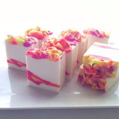 pretty handmade soaps | Pin by Khris on Beautiful Handmade soaps | Pinterest