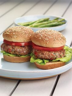 """Juicy Lamb Burgers from the NEW """"The Perfect Diabetes Comfort Food Collection,"""" by Robyn Webb"""