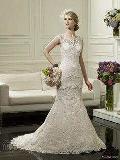 Bellos vestidos de novias   Terminaciones espectaculares