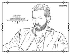 32 adult coloring book pages of hollywood's hottest men (and they O'Neal Racing Shaquille O'Neal Basketball Player Shaquille O'Neal Three
