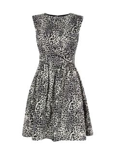 Animal print dress by Emily and Fin