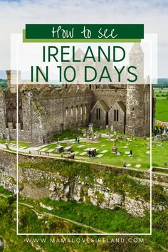 Can you see Ireland in 10 days? See the best of the Emerald isle with this 10 day Ireland itinerary Southern Ireland, Love Ireland, Ireland Vacation, Ireland Travel, Grafton Street, Emerald Isle, Famous Places, European Travel, Amazing Destinations