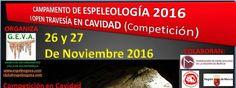 Espeleo Club de Descenso de Cañones (EC/DC): I Open travesía en cavidad (26-27 noviembre 2016)