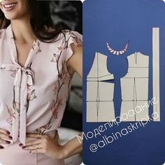 27 elegant photo of custom sewing patterns – ArtofitImage gallery – Page 585186545310949913 – Artofit Diy Clothes Patterns, Dress Sewing Patterns, Blouse Patterns, Blouse Designs, Pants Pattern, Top Pattern, Sewing Blouses, Make Your Own Clothes, Free Sewing