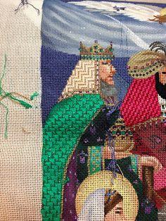 steph's stitching: Tapestry Tent Nativity Stocking