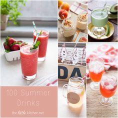 100 Summer Drink Recipes
