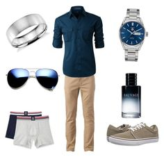 """""""Night out"""" by o-reginal on Polyvore featuring Urban Pipeline, Vans, Psycho Bunny, LE3NO, TAG Heuer, Blue Nile, Christian Dior, ZeroUV, men's fashion and menswear"""