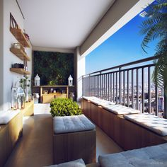CGarchitect - Professional 3D Architectural Visualization User Community | Just a Balcony