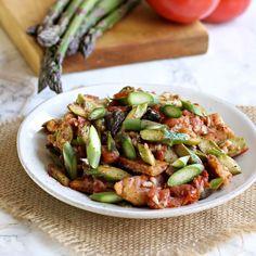 Tomato and Asparagus Bread Salad