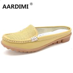 Sandals Summer New arrival solid women sandals summer slippers flip flops Genuine Leather flat sandals ladies slip on flats clogs shoes woman - There is nothing more comfortable and cool to wear on your feet during the heat season than some flat sandals.