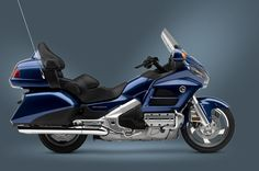 2014 Gold Wing Audio Comfort Pearl Blue - for taking his dream girl on a tour of the fall foliage ;)