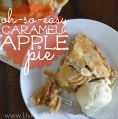 Love apple pie but not all the effort? You won't believe how quick and easy it is to whip up this amazingly delicious, almost-from-scratch Caramel Apple Pie!