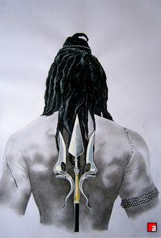 "Lord || Shiva || from the novel ""The Immortals of Meluha""."