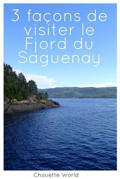 Saguenay Quebec, Places To Travel, Travel Destinations, Winning Lottery Numbers, Voyage Canada, Les Fjords, Montreal Quebec, Canada Travel, Canada Trip