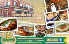 Restaurante La Blanca Pachuca Hidalgo.