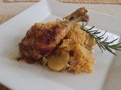 Novozámocké pečené kurča Pork, Chicken, Meat, Kale Stir Fry, Pork Chops, Cubs