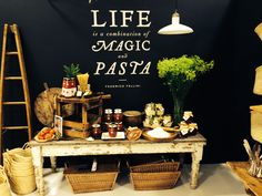 Life is a combination of magic and pasta. - Frederico Fellini