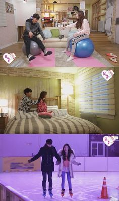 """Hong Jong Hyun Offers His Arm as a Pillow for Yura on """"We Got Married"""" We Got Married Couples, We Get Married, Hong Jong Hyun, Jung Hyun, Wgm Couples, Celebrity Couples, Kim Ah Young, Girl's Day Yura, Romantic Things"""