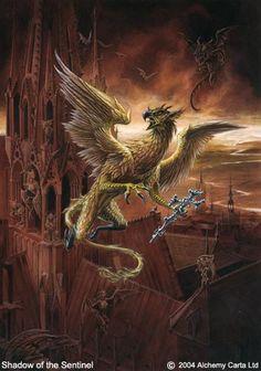 Shadow of the Sentinel Alchemy Art, Gothic Art, Art Gallery, Artwork, Painting, Mad, Gothic Artwork, Art Museum, Work Of Art