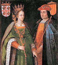 Petronila y Ramon Berenguer. Reino de Aragón y Condado de Barcelona.