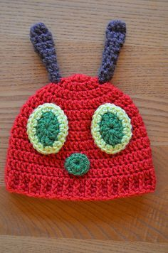 Ravelry: Hungry Caterpillar Baby Hat pattern by Mary Hodges | best stuff