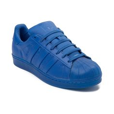 Go bold or go home with the new Superstar Athletic Shoe from adidas! These killer kicks sport signature Superstar style, constructed with micro-perforated, smooth leather uppers, signature shell toe, and vibrant monochrome colorways. <b>Only available at Underground by Journeys and online at Journeys.com!</b> <br><br><u>Features include</u>:<br> > Smooth leather upper with allover micro-perforations<br> > Lightly padded collar<br> > Classic rubber-shell toe for durability<br> > adidas…