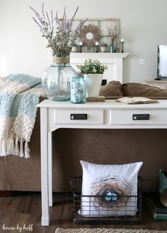Console Table Makeover: Take 2 - House  by Hoff