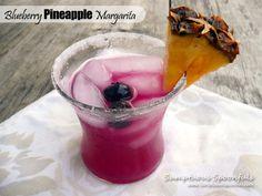 Blueberry Pineapple Margarita