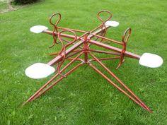 old school merry-go-round/teeter-totter #nostalgia