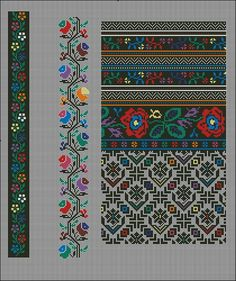 Gallery.ru / Фото #21 - Без названия - 753159 Folk Embroidery, Embroidery Patterns Free, Cross Patterns, Loom Patterns, Counted Cross Stitch Patterns, Cross Stitch Charts, Cross Stitch Embroidery, Cross Stitch Borders, Cross Stitch Designs