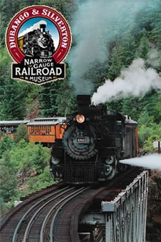 Durango & Silverton Narrow Gauge Railroad in Colorado Hmmmm. over dozen marijuana shops in Durango.maybe this isn't a good idea for a family vacation after all Train Car, Train Tracks, Train Rides, Silverton Train, Silverton Colorado, Durango Colorado, Snowshoe, Pikes Peak, Durango Train