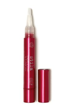 This crush delivers a perfect pop of vibrant pink to your lips and cheeks. Packed with good-for-you ingredients and a touch of subtle shimmer, this sheer raspberry-rich formula creates a healthy, glowing flush of youth.   Infused with naturally staining raspberry extracts, this sweetly-scented wonder reacts to your personal pH levels to create your perfect vibrant pink shade every time.  This juicy formula works as a blush and a lip tint - leaving a pretty pop of color that compliments your…