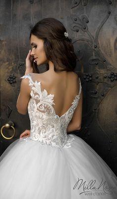 Milla Nova 2016 Wedding Dresses / http://www.deerpearlflowers.com/milla-nova-wedding-dresses/7/