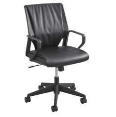 Priya Leather Conference Chair