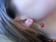 Ellijay Apple Earrings blessedbeemelisa.etsy.com $16 pr