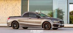 Traumwagen: Mercedes-Benz CLA Pickup: Eine schöne Idee ohne Chance auf Verwirklichung?