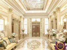 Image result for luxury entrance hall decorating ideas #classicmodernmansion