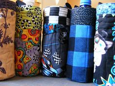 63 Ideas diy baby carrier cover water bottles for 2019 Water Bottle Carrier, Water Bottle Covers, Bottle Bag, Wine Carrier, Baby Bottle, Sewing Tutorials, Sewing Projects, Sewing Crafts, Sewing Patterns