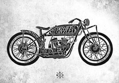 Cafe Racer by bmd design on the Behance Network in Motorcycle Cafe Racer Motorcycle, Motorcycle Art, Bike Art, Classic Motorcycle, Art Moto, Design Graphique, Typography Art, Typography Served, Ink Illustrations