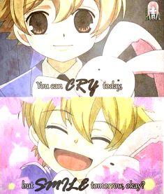 Honey-senpai~ why so cute? <3  Anime: Ouran Highschool Host Club