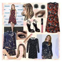 Celebrity style: Lily James by movielooks on Polyvore featuring Giambattista Valli, Valentino, Yves Saint Laurent, Polo Ralph Lauren, Balmain, Mark Broumand, Charlotte Tilbury, NARS Cosmetics and Designers Guild