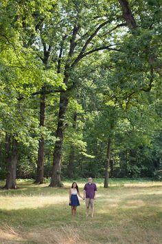 Grace & Ben's National Arboretum engagement in DC!