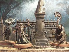 The Haunted Village of Wortbad - Alice Rainfall (Banshee), Krathar Duskchain (Vampire), Hagel Rotshroud (Necromancer)