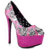 Iron Fist's Multi-Color Bright Light Platform - Hot Pink for 59.99 direct from heels.com