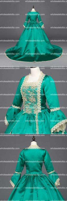 New Blue Southern Belle Victorian Wedding Ball Gown Dresses Wedding  Dress